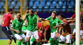 Madagascar venció en los penaltis a Congo y estará entre los ocho mejores de África. AFP