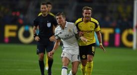 El Signal Iduna Park acogerá el Borussia- Madrid. AFP
