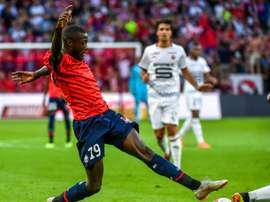 Pépé is contracted at Lille until 2022. AFP