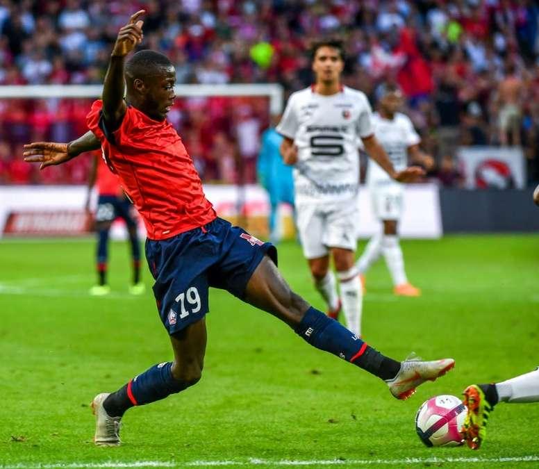 El Lille pide 50 millones por Pépé. AFP