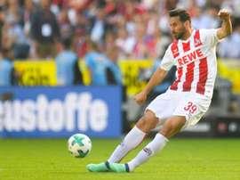 Pizarro de retour à Breme. AFP
