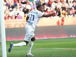 Toko-Ekambi va rester à Lyon. AFP