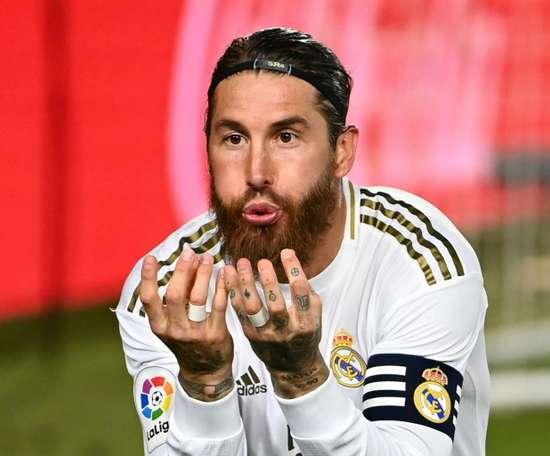 Le Real doit apprendre à gagner sans Ramos. AFP