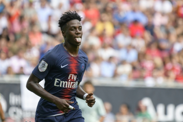 Maillot THIRD PSG Timothy WEAH