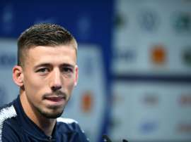 Lenglet thinks it was wiser to suspend the match. AFP