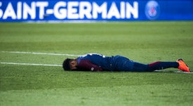 Le Real demande au PSG d'assumer les possibles blessures de Neymar. AFP
