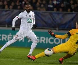 Lyon qualifié dans le sillage de Dembélé. afp
