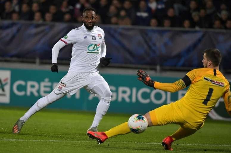 Goleada del Lyon y otra millonada para Dembélé. AFP