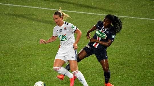 La finale de Coupe de France interrompue par une panne d'éclairage. AFP
