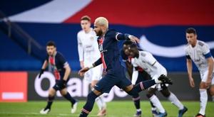 Neymar spoke ahead of PSG's clash with United. AFP