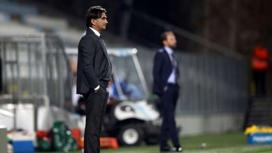 Dalic thought fatigue played a big factor in the loss. AFP