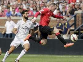 Rooney pense qu'il aurait pu plus marquer. AFP