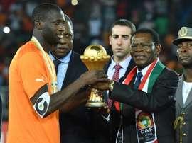 Nadie sabe dónde está Yayá Touré. AFP