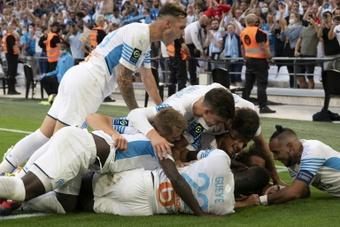 Porté par Dieng, Marseille redevient dauphin du PSG. AFP
