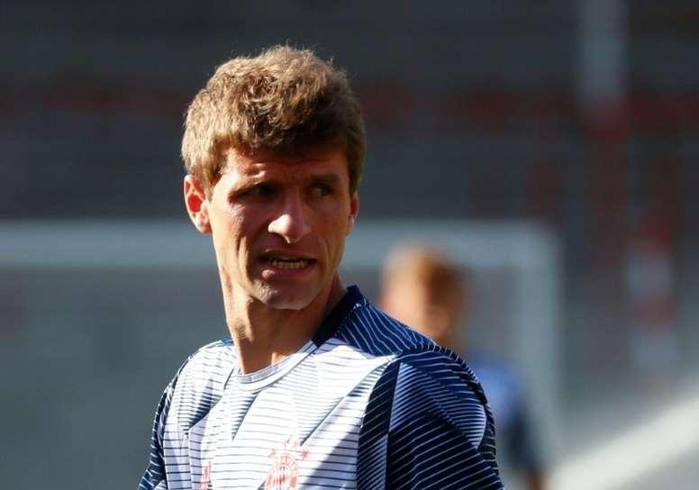 Müller elogió el gran trabajo que Hansi Flick está haciendo al frente del banquillo. AFP