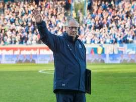 Island's miracle coach threatens Spain. AFP