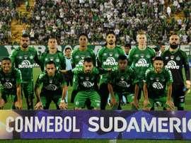 El 'verde' logró el empate a domicilio. AFP