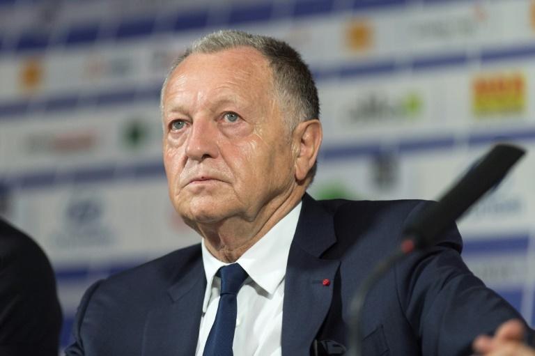 Prochain article Article précédent Pin Le président de Lyon Jean Michel Aulas. AFPWhatsappTwitterFacebookCommentaires 0