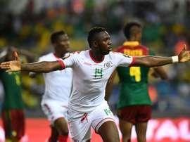 Burkina Faso ya está en cuartos de final de la Copa África. AFP/Archivo