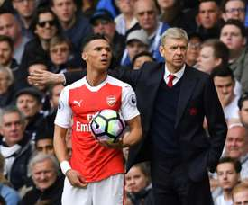 Gibbs moved to West Brom in the summer, after making 230 Arsenal appearances. AFP