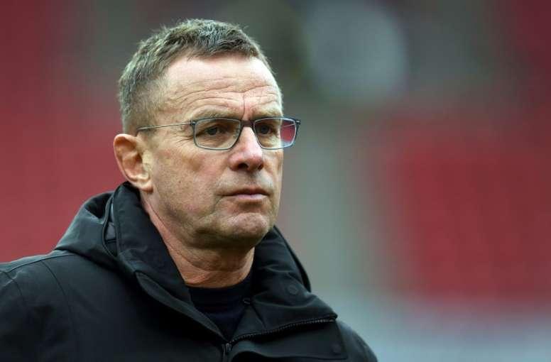 Rangnick pour remplacer Solskjaer à Manchester United. AFP