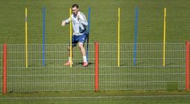 Niklas Süle mitigé sur une reprise rapide du foot. AFP