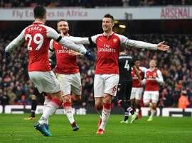 Xhaka podría dejar el Arsenal en invierno. AFP
