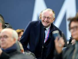 Jean-Michel Aulas tacle les Messins. AFP