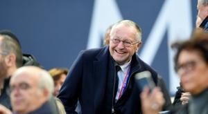 Jean-Michel Aulas tacle les Messins. AFP