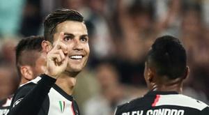 Cristiano Ronaldo e um caso de amor pela Champions League. AFP