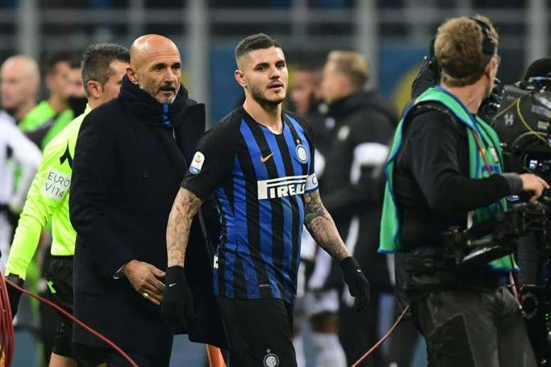 El Nápoles esperará a Icardi hasta el jueves. AFP