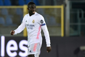 Mendy is also being considered for a move away from Madrid. AFP