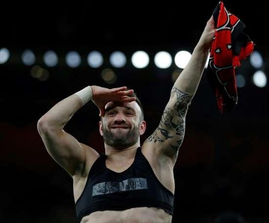L'Olympiakos de Valbuena se rapproche du titre en allant battre son dauphin. AFP