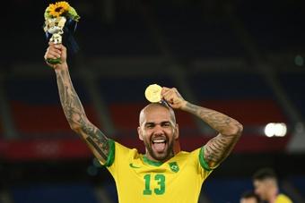 'Gagner l'or olympique est un moment indescriptible'. AFP