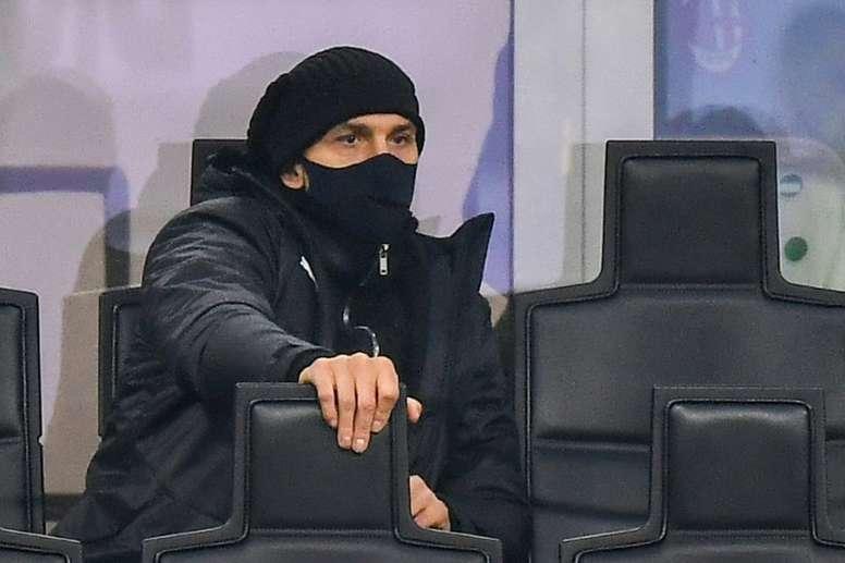 L'AC Milan toujours sans Ibrahimovic dimanche. afp