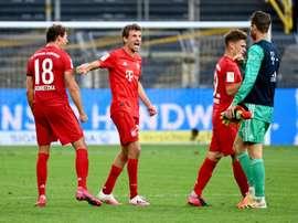 Les clubs allemands rechignent à libérer les internationaux. AFP