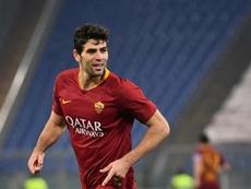Le défenseur de l'AS Rome, Federico Fazio. AFP