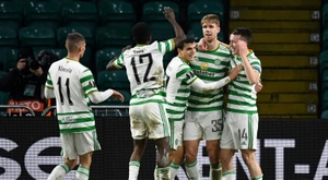 O Celtic foi treinar em Dubai e voltou com um positivo para COVID-19. AFP