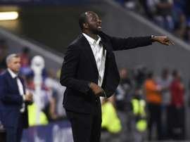 Vieira jouait avec Lilian Thuram et entraînera désormais son fils. AFP