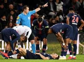 Thomas Meunier sera de retour face à Dijon. AFP