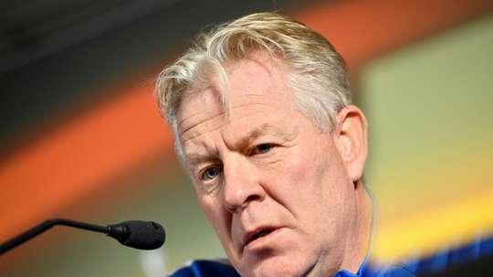 Peter Maes, dans la tourmente. AFP