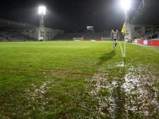 Nîmes-Rennes reporté. AFP