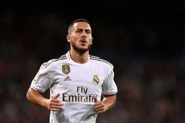 Hazard was the best placed Madrid player in the Ballon d'Or. AFP