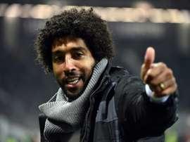 Dante, exclu lors du match, se montre content de la victoire arrachée à Toulouse. AFP