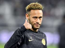 Neymar ne pense pas à Barcelone. AFP