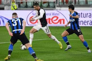 Cristiano Ronaldo é a grande arma da Juventus. AFP