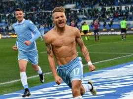 Lazio vence Hellas Verona por 3-0. AFP