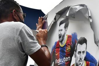 El Barça también se desangra económicamente por la salida de Messi. AFP