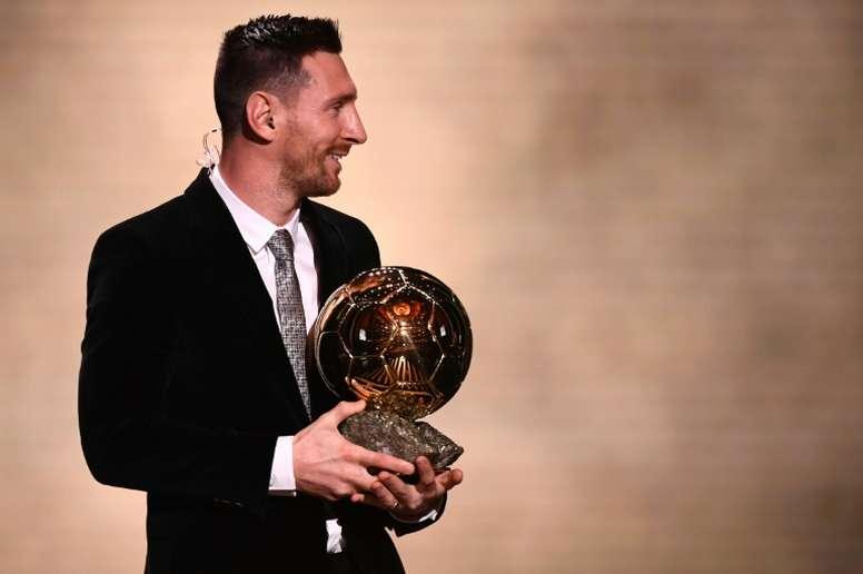 Messi ya es único. AFP