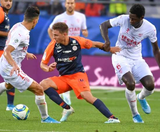 Montpellier garde la main dans le derby. AFP